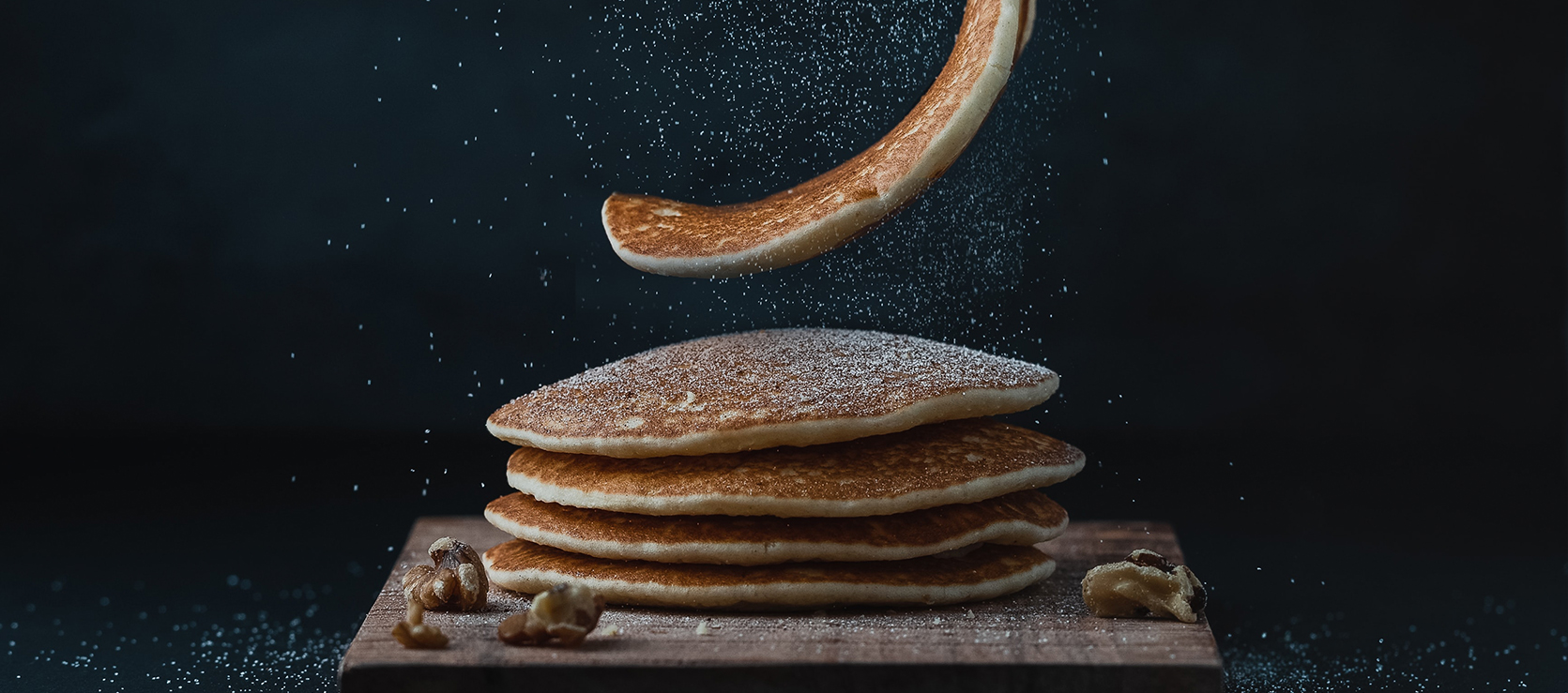Pancakes z Pastą Orzechową